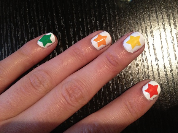 nails-stars