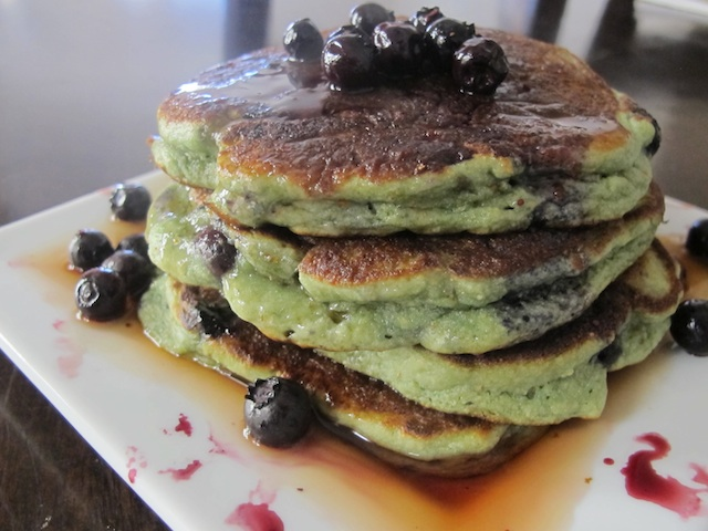 blueberry-pancakes