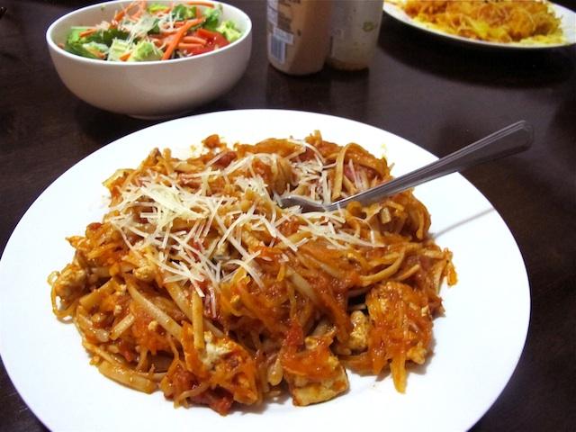 spaghetti-squash-pasta