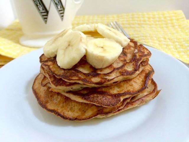 3 Crazy-Good, 3-Ingredient Pancakes - Whitney E. RD