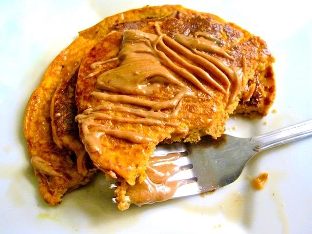 3 Ingredient Pumpkin Pancakes Recipe