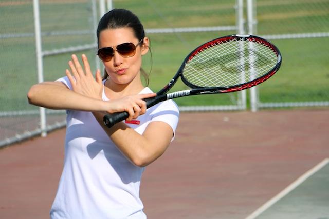 tennis-pose