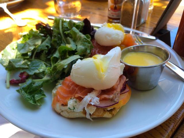 areal-brunch-salmon-eggs-benedict
