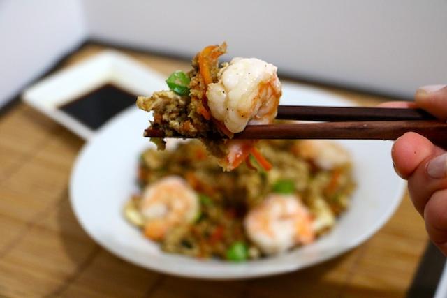 cauliflower-fried-rice-and-shrimp