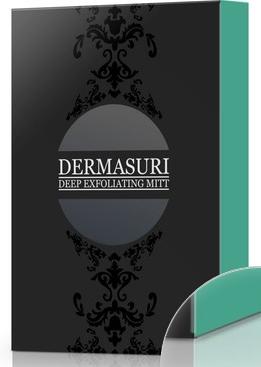 dermasuri exfoliating mitt