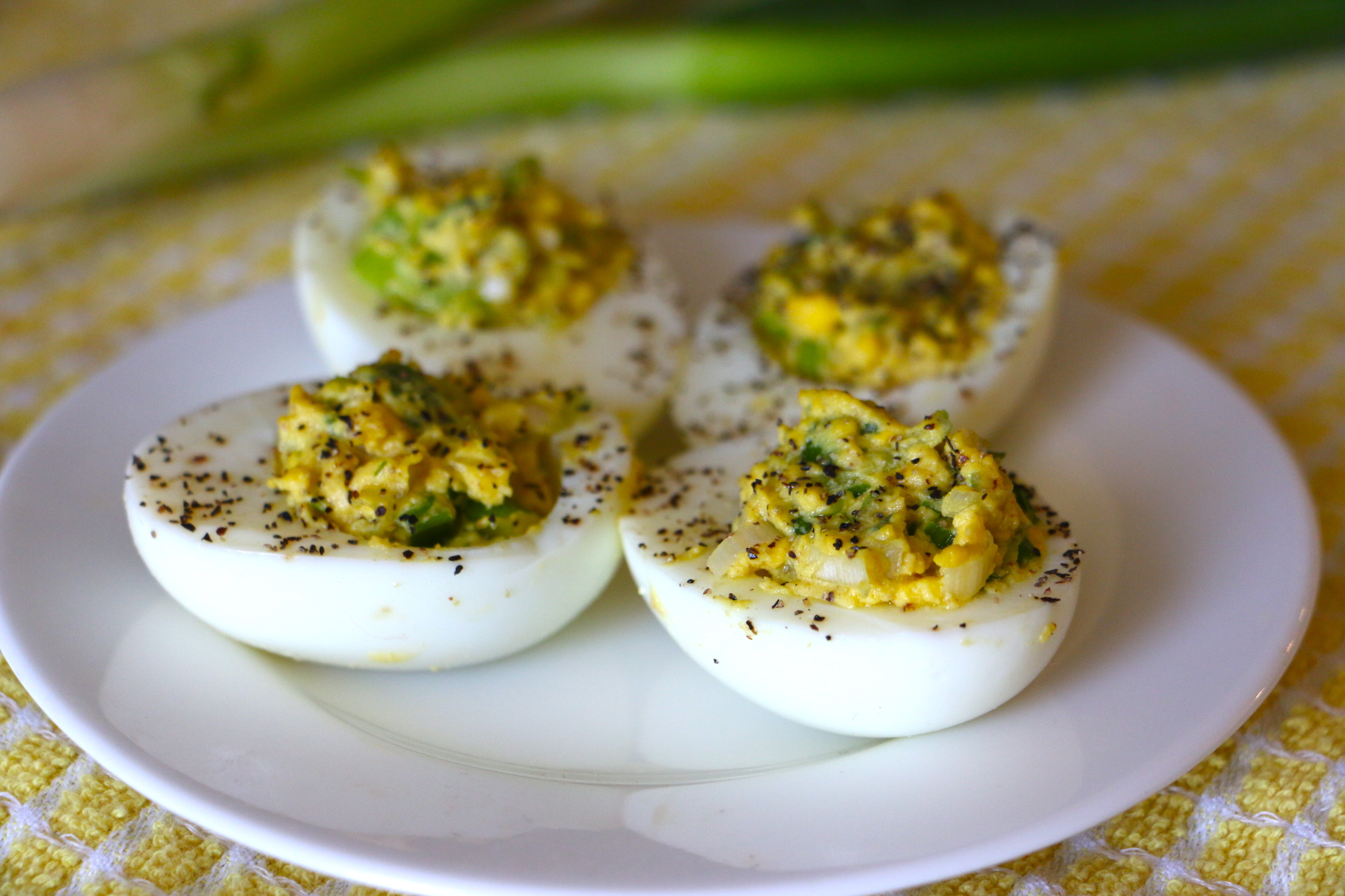 Three Mayo-Free, Healthy Deviled Egg Recipes - Whitney E. RD
