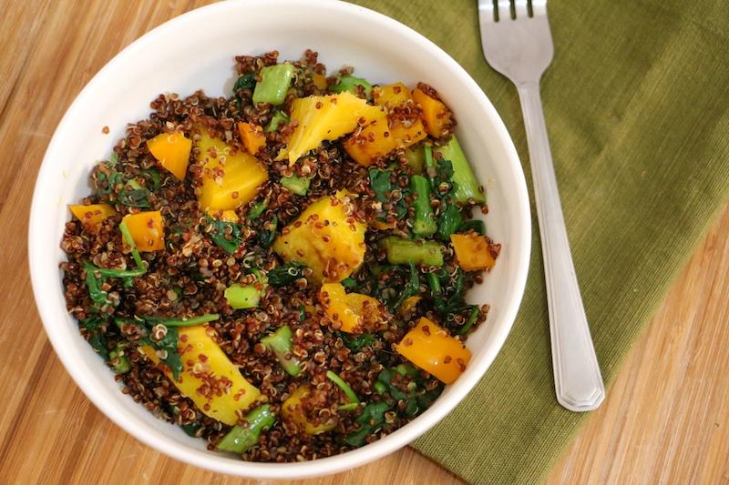 red-quinoa-saute-veggies
