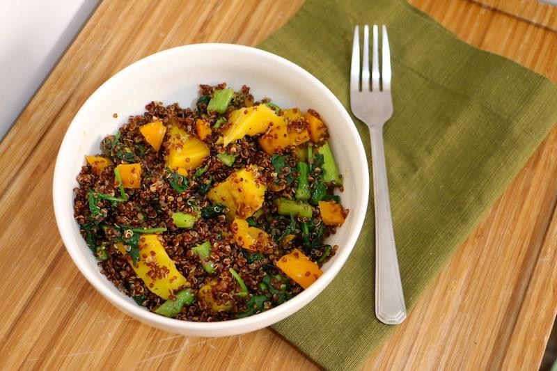 red-quinoa-veggie-bowl