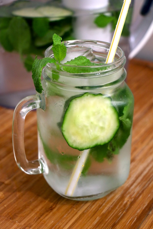 cucumber-mint-infused-water