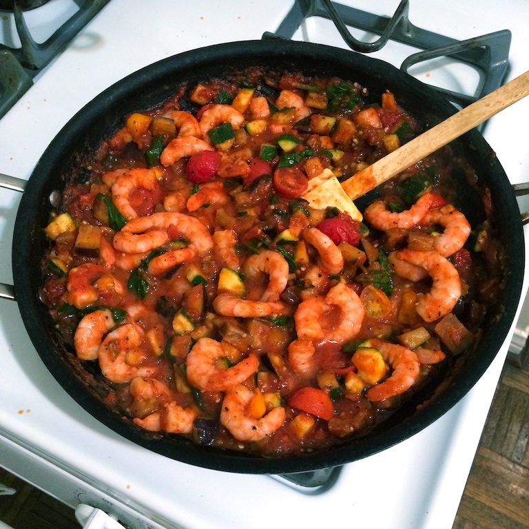 shrimp-marinara-pasta