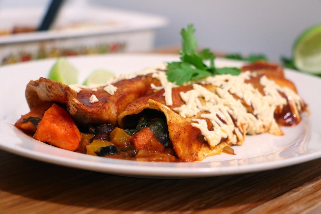 sweet-potato-black-bean-vegan-enchilada