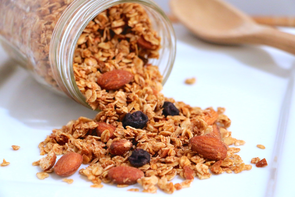 blueberry-cinnamon-granola