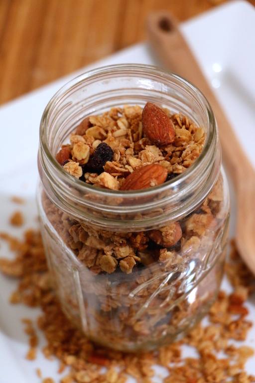 healthy-cinnamon-granola
