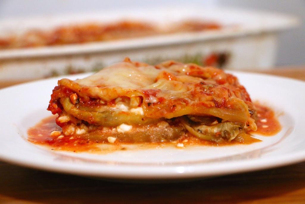 Eggplant Turkey Lasagna Whitney E Rd