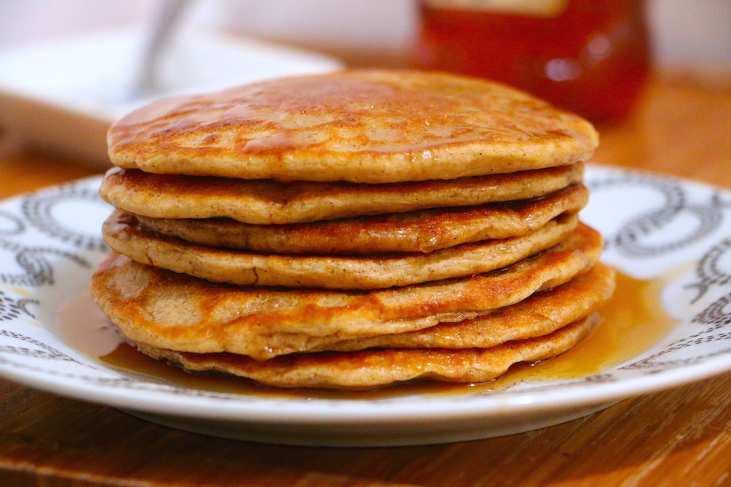healthy-whole-wheat-pancakes-recipe