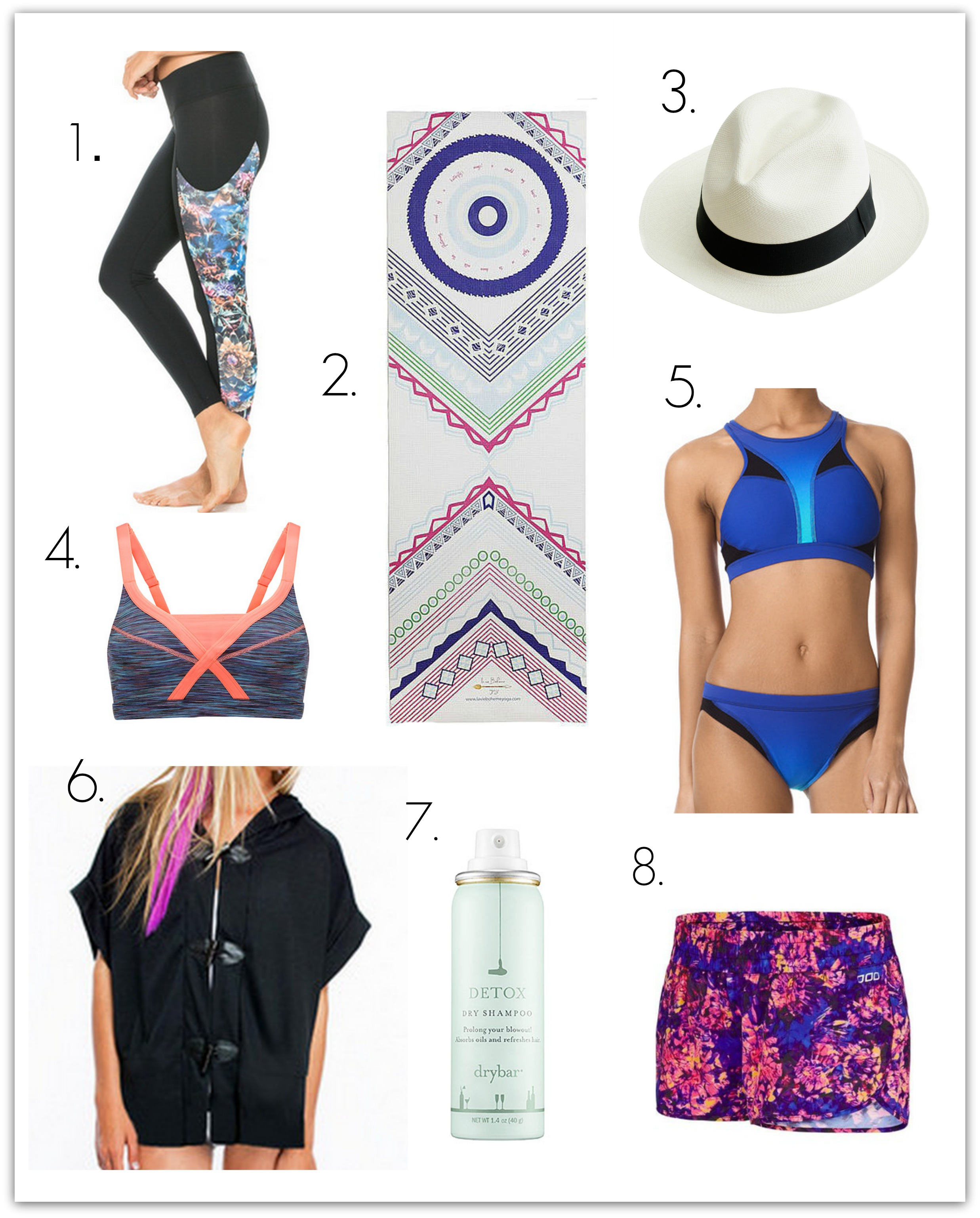 Fitness Fashion Must-Haves: Spring 5 - Whitney E. RD
