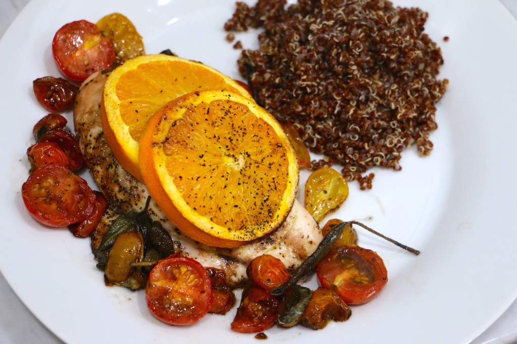 Orange Balsamic Chicken for Two - To Live & Diet in LA