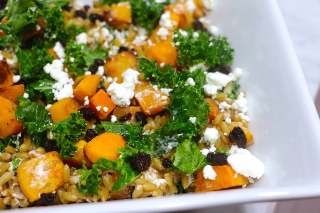 kale-currant-butternut-squash-goat-cheese-wheat-berry-salad