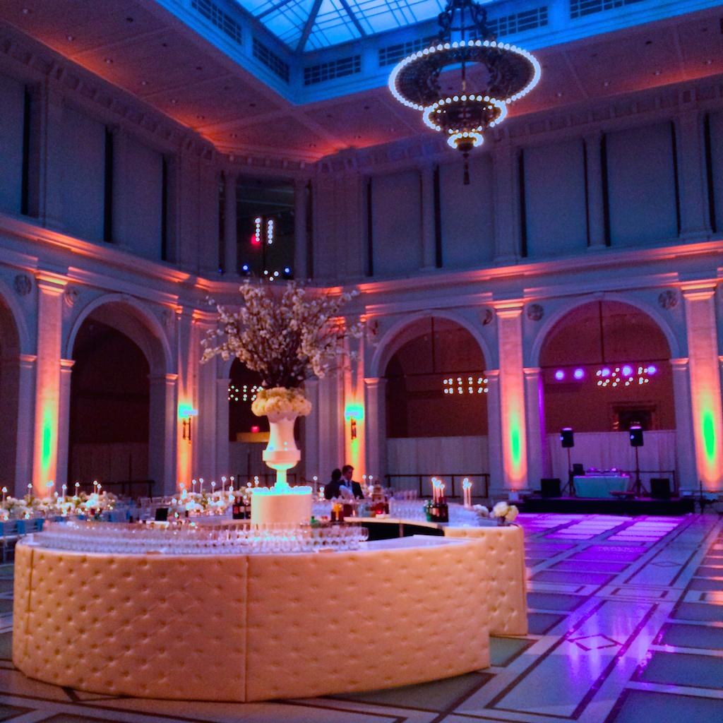 Brooklyn Museum Wedding Reception