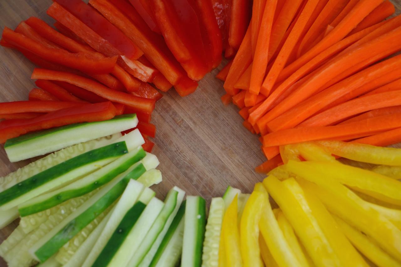 julienned-vegetables