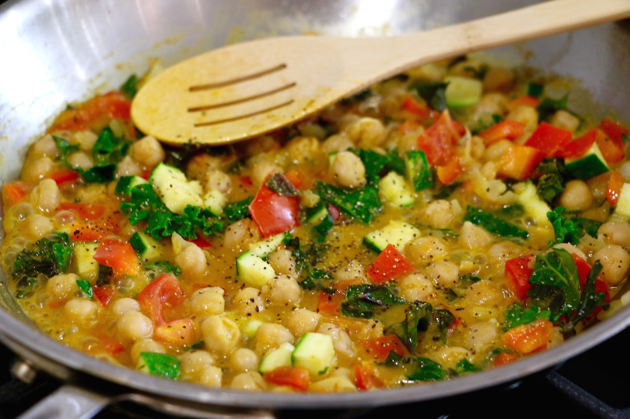 easy-chickpea-curry