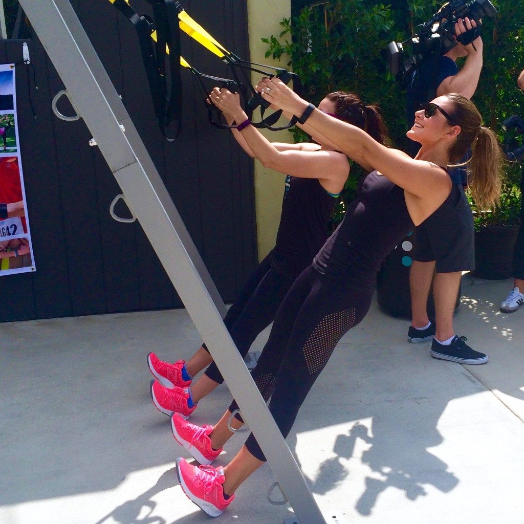 TRX Training with Harley Pasternak
