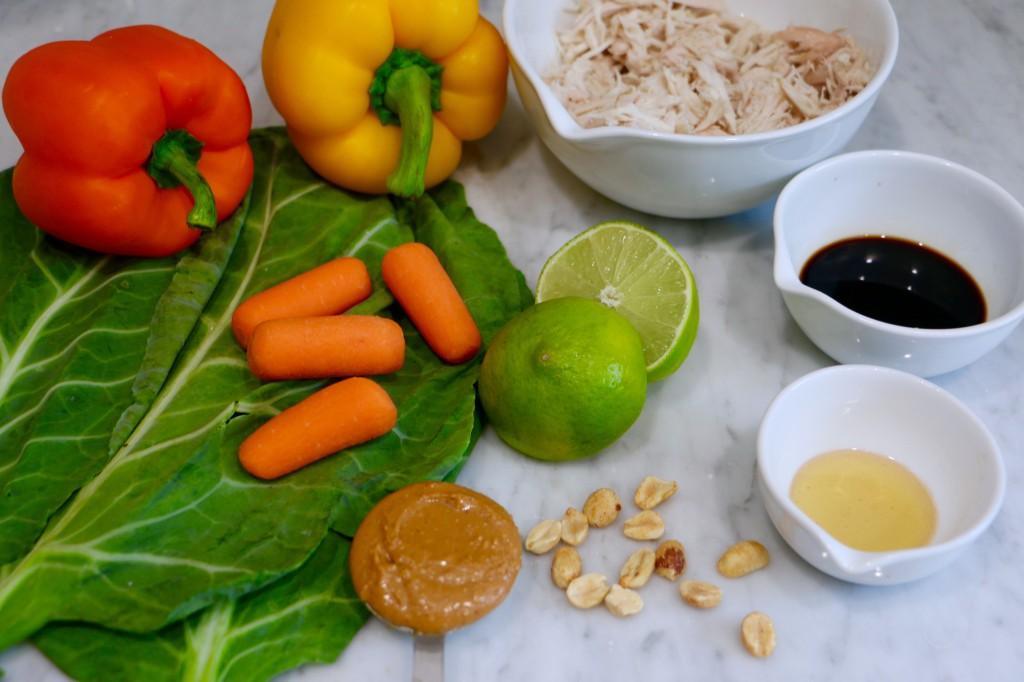 thai-chicken-roll-ingredients