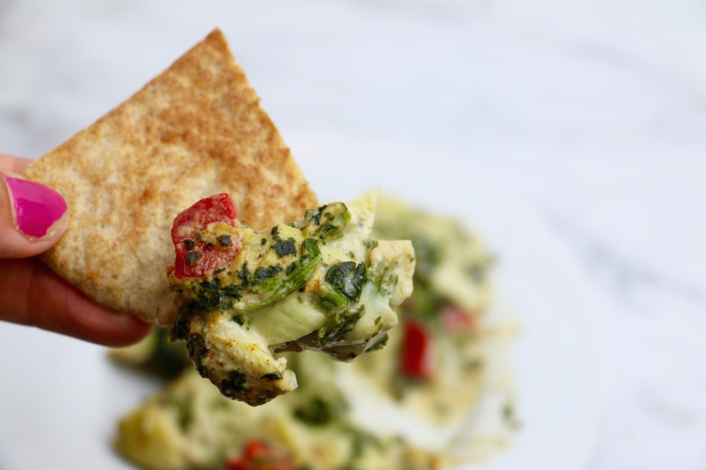 Meatless Monday Spinach Artichoke Dip