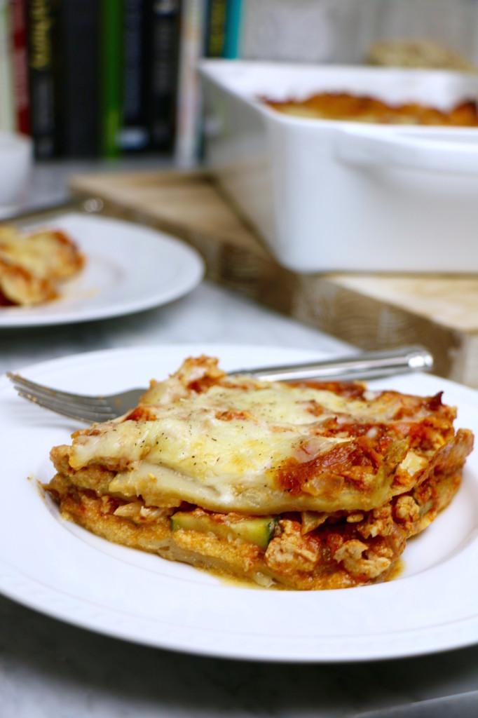 Pumpkin Turkey Lasagna Recipe