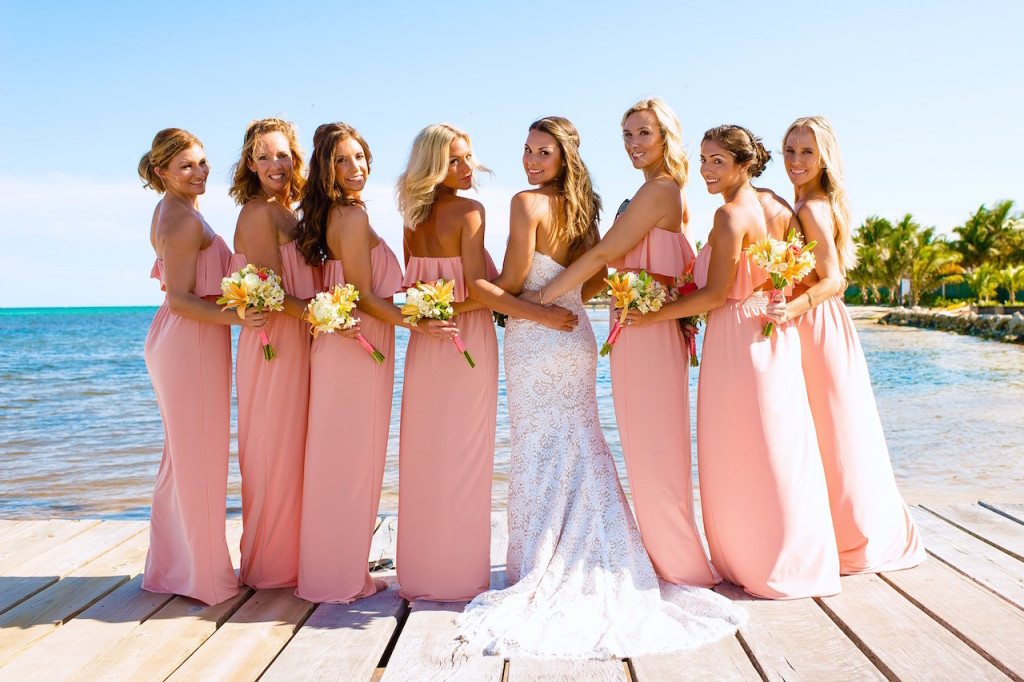 beach-wedding-bridesmaids