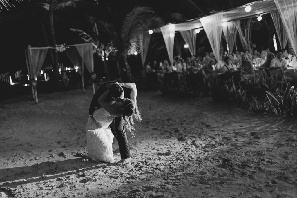 first-dance-barefoot-beach-wedding