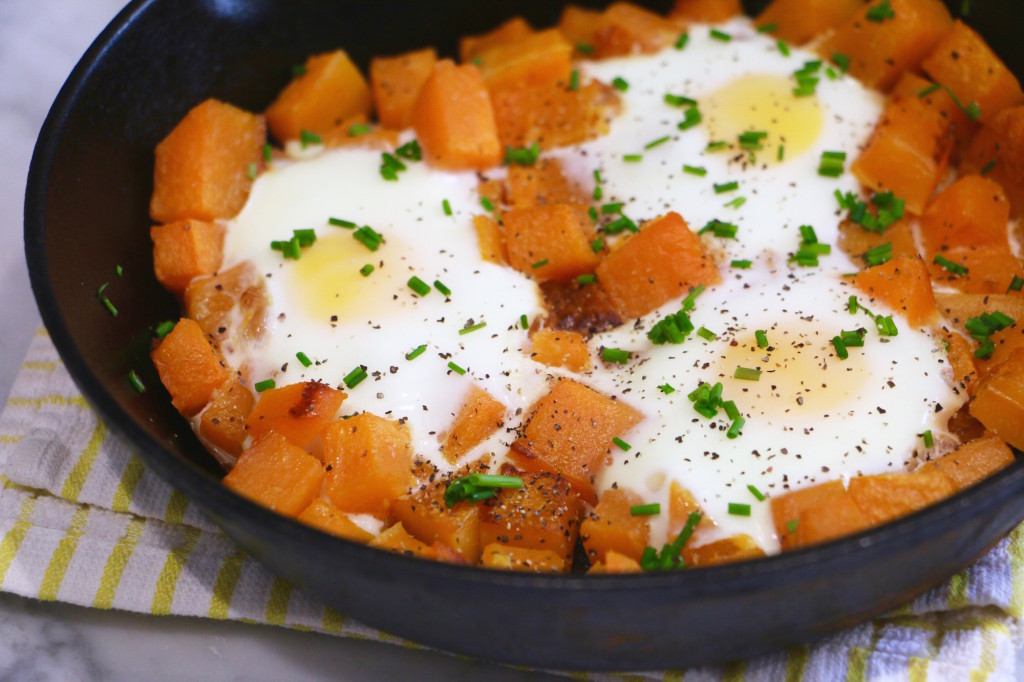 Butternut Squash Breakfast Bake