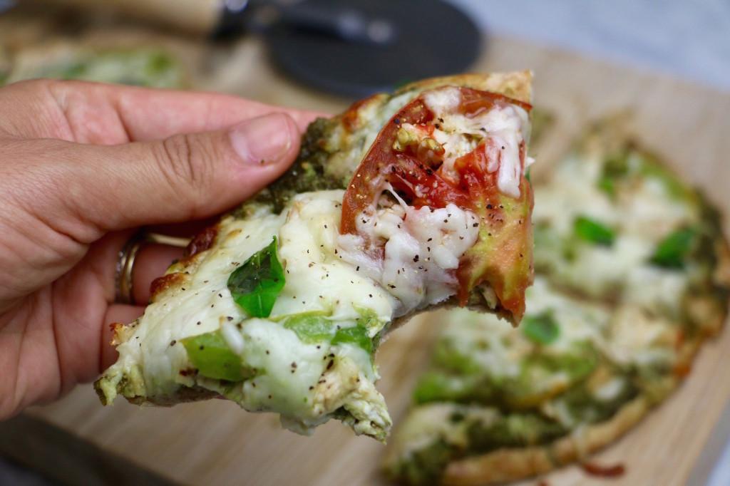 Chicken Pita Pizza Recipe