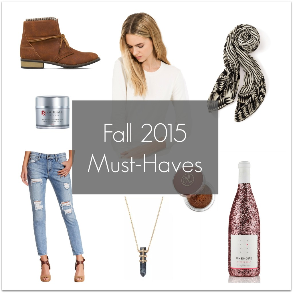 Fall 2015 Must Haves