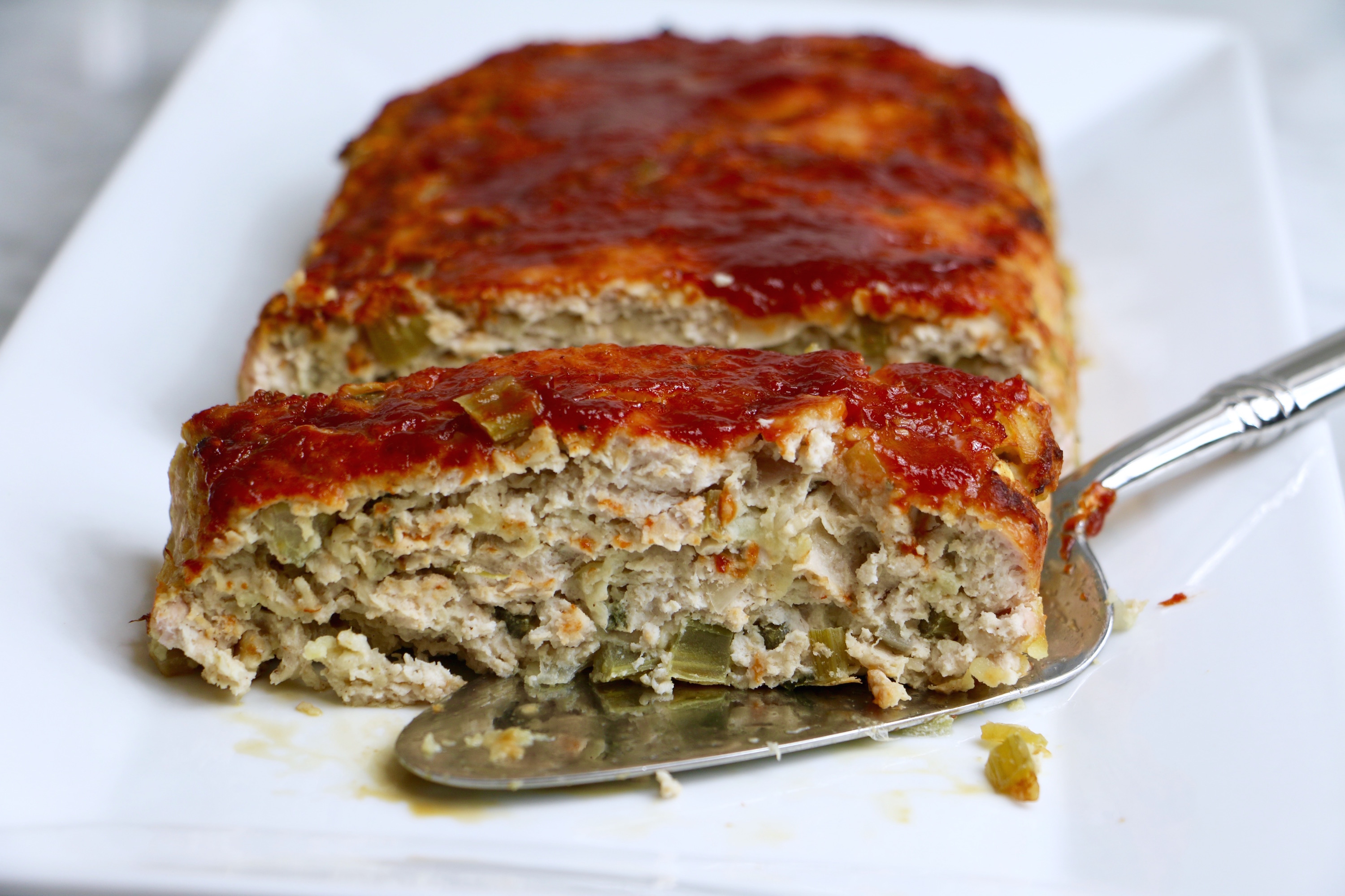 Apple Sage Turkey Meatloaf - so moist, delicious, and full of fall ...