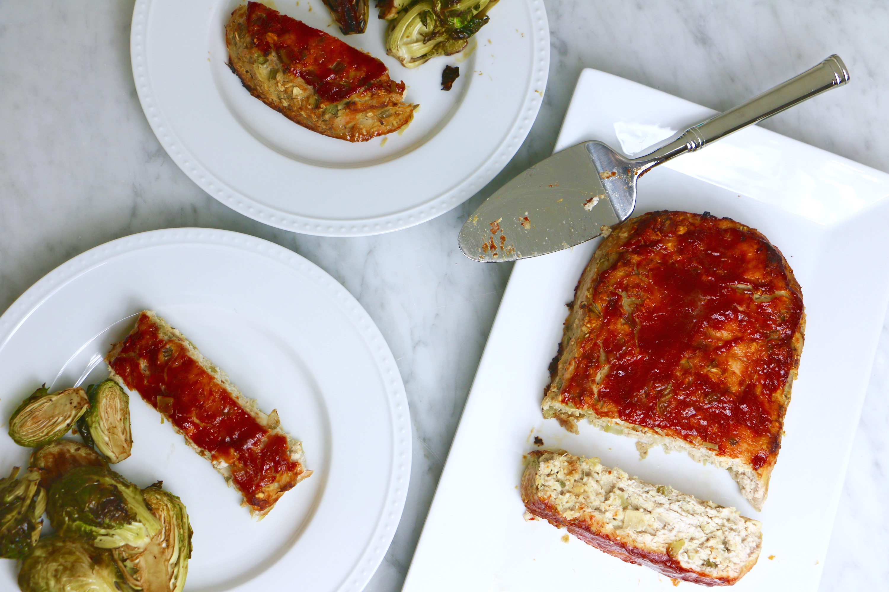 Apple Sage Turkey Meatloaf - To Live & Diet in LA