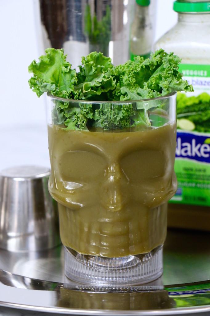 Healthy Halloween Drink - Goblin Guts