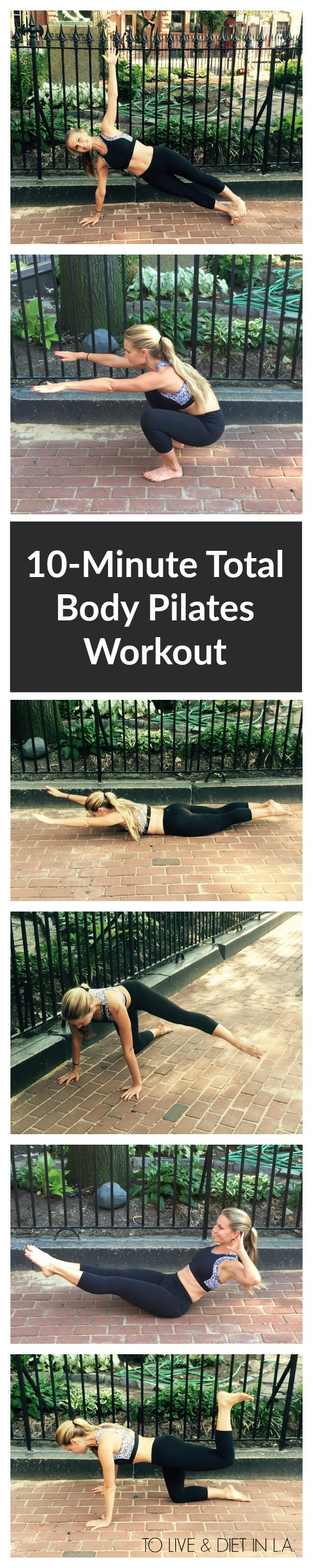 10 Minute Total Body Pilates Workout