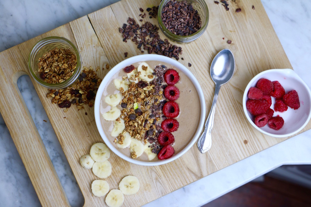 Maca Berry Breakfast Bowl