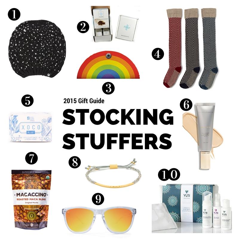 2015 Stocking Stuffer Gift Guide