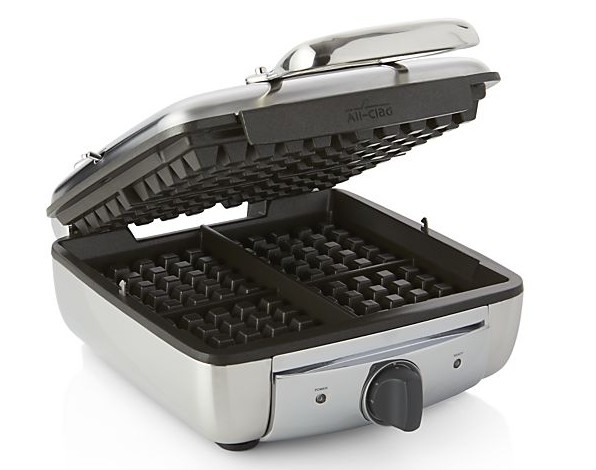 All Clad 4-Square Belgium Waffle Maker