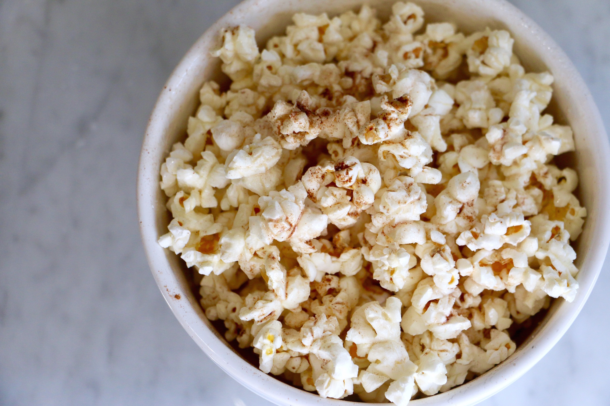 Cinnamon and Sugar Popcorn