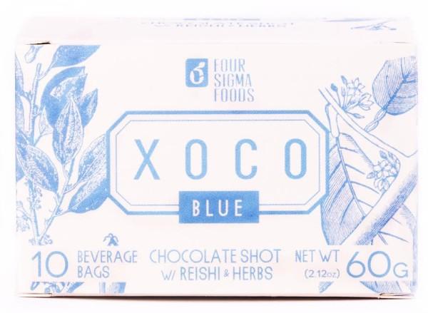 Four Sigma Mushroom Hot Chocolate - XOCO Blue