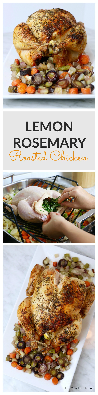Lemon Rosemary Roasted Chicken Recipe