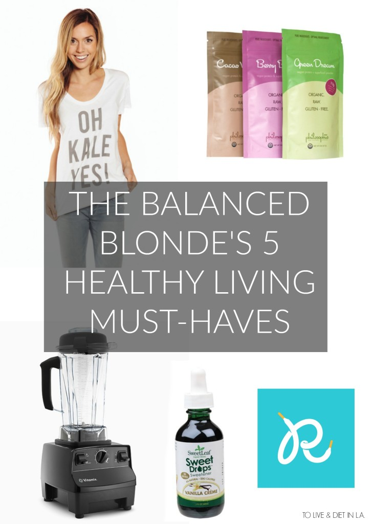 The Balanced Blonde Jordan Younger Interview + Healthy Living Must Haves