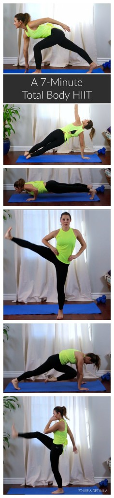 7 Minute Total Body HIIT Workout