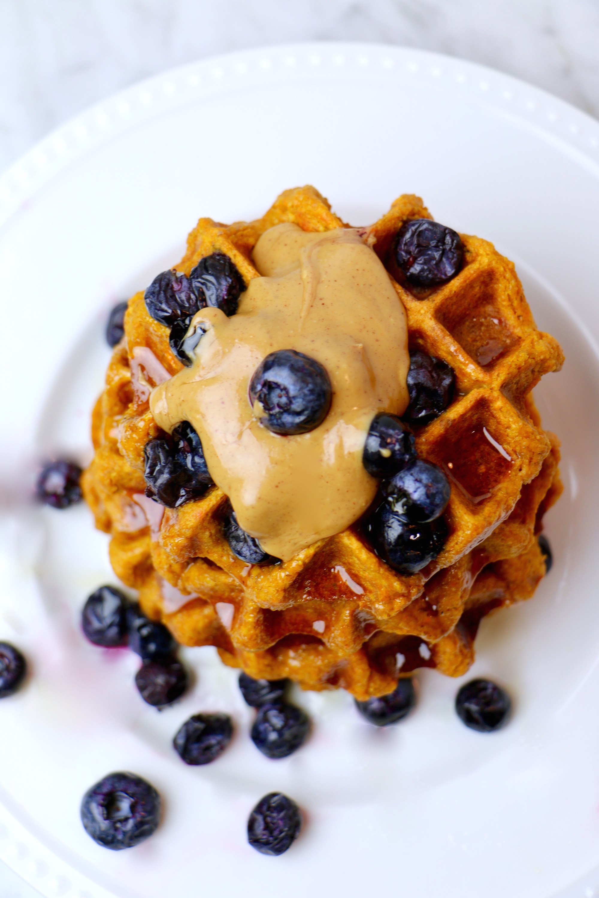 Gluten Free Sweet Potato Waffles