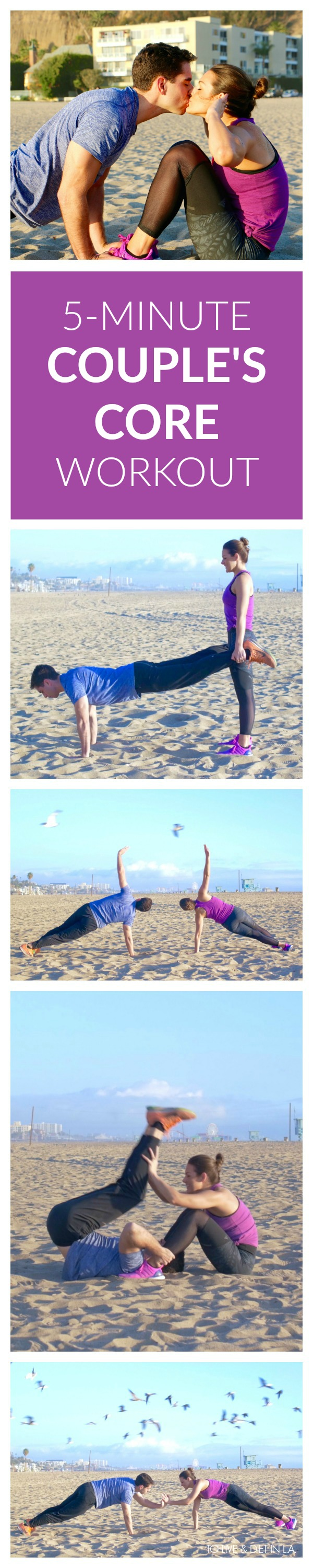 5-Minute Couple's Core Workout Video