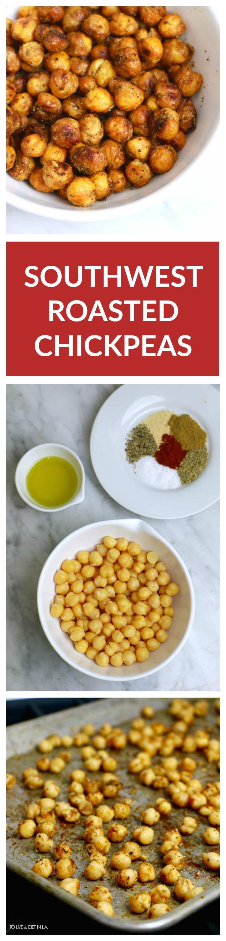 How To Southwest Roasted Chickpeas