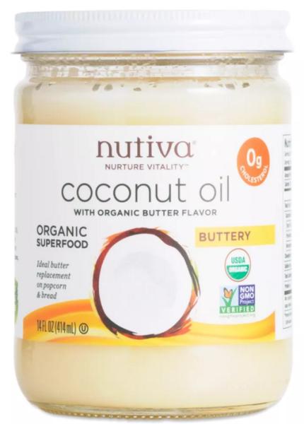 Nutiva Buttery Coconut Oil